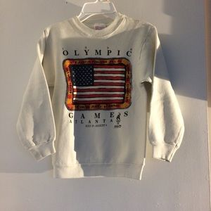 1996 OLYMPICS ATLANTA VINTAGE CREWNECK